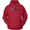 Image of Yen Hoodie Black & Blue Logo - Jonjarash Shop