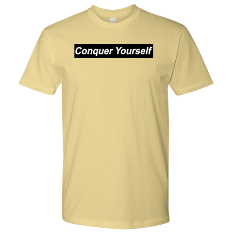 Conquer Yourself Men T-Shirt - Jonjarash Shop