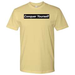 Conquer Yourself Men T-Shirt