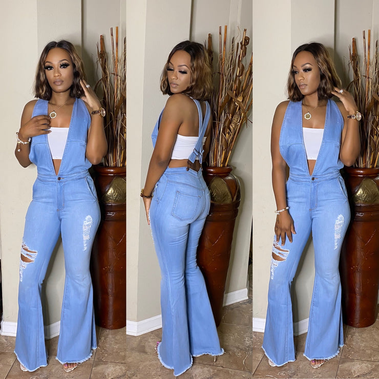 Casually Chic Denim Jumpsuit RESTOCK