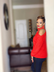 Sabrina Sweater Red