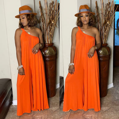 Sheena Jumpsuit ORANGE