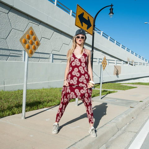 Sunshine Jumpsuit in Red