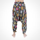 Buddha Pants® UK Savannah Elephant Harems in Black