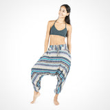 Elephant Harem Pants in Turquoise ~ Buddha Pants