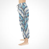 Elephant Buddha Pants in Turquoise ~ Harem Pants