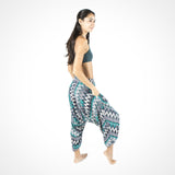 Zags Green Yoga Buddha Pants