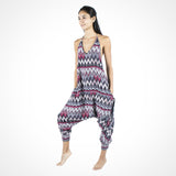 Zags Buddha Pants® Jumpsuit in Grey