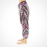 Lounge Yoga Pants by Buddha Pants UK - Grey Zags