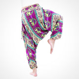 Elephant Buddha Pants® (Purple)