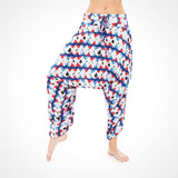 Snake Eye Moroccan Buddha Pants® in Red