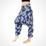 Unisex Blue Sunshine Parachute Pants
