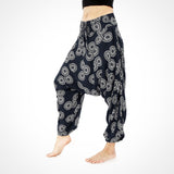 Navy Sunshine Yoga Meditation Pants