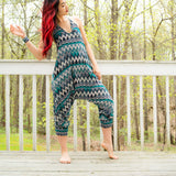 Zags Buddha Pants® Jumpsuit in Green
