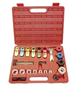 22pc Fuel And Air Conditioning Disconnection Tool Set AC Line Hoses Fuel Kit
