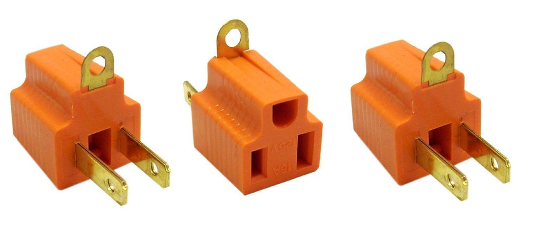 3pc Set Ground Adapter 2 To 3 ADT