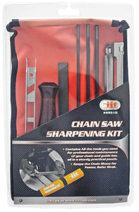 8 Piece Chainsaw Sharpener File Kit