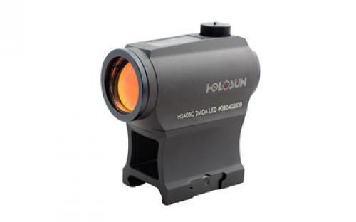 Holosun Technologies HS403C Micro Red Dot 2MOA Dot  Solar with Battery