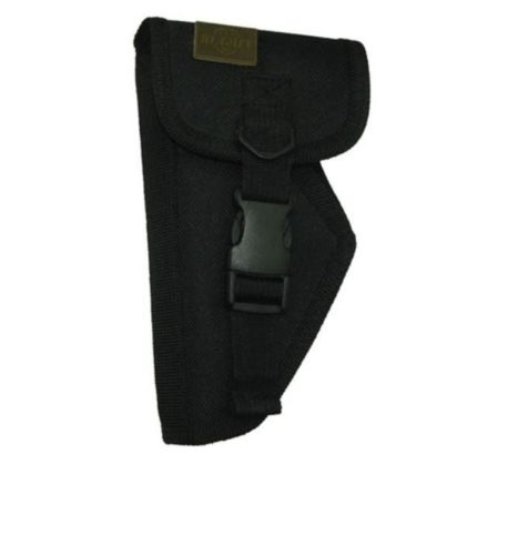 Taigear TG205BL Black Small Holster Left Handed Flap Fits Pistols Up To 6.5