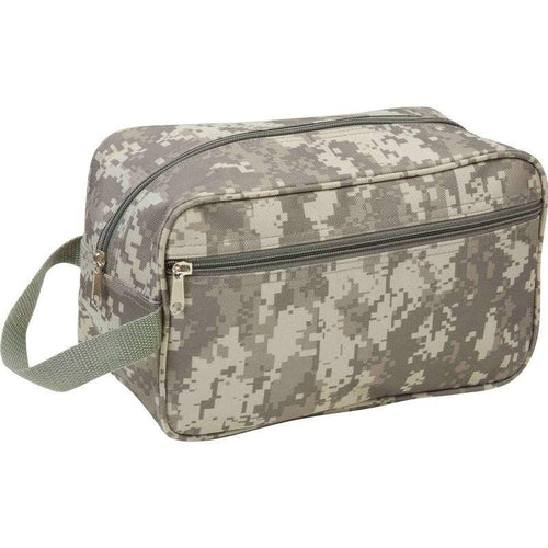 Camo Travel Toiletries Bag
