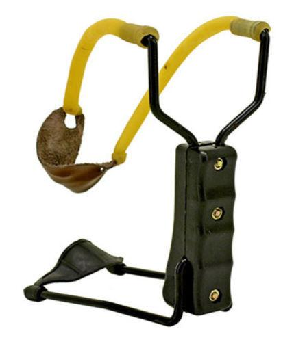 Folding Slingshot High Velocity Wrist Catapult Powerful Hunting Sling Shot