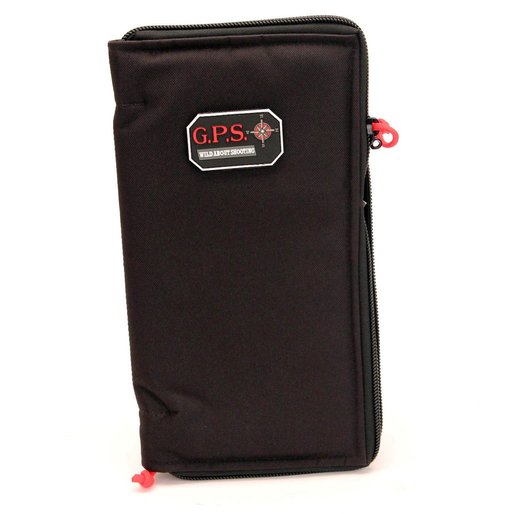 G Outdoors Pistol Sleeve Large, Black GPS-1265PS