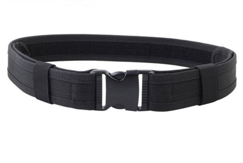 Black Utility Nylon Duty Belt 2