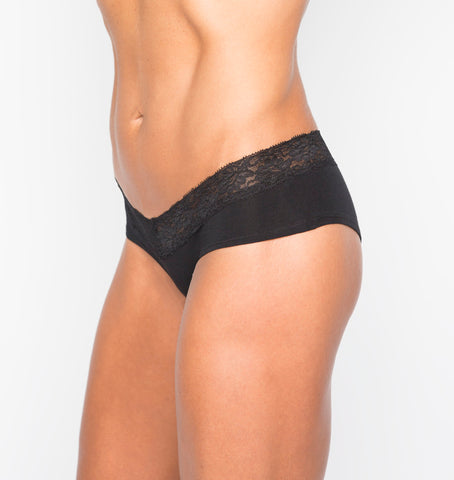 Camel Toe Prevention Lace Brief