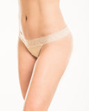 Camelflage Lace Thong