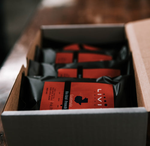 Sample Box for Coffee Club