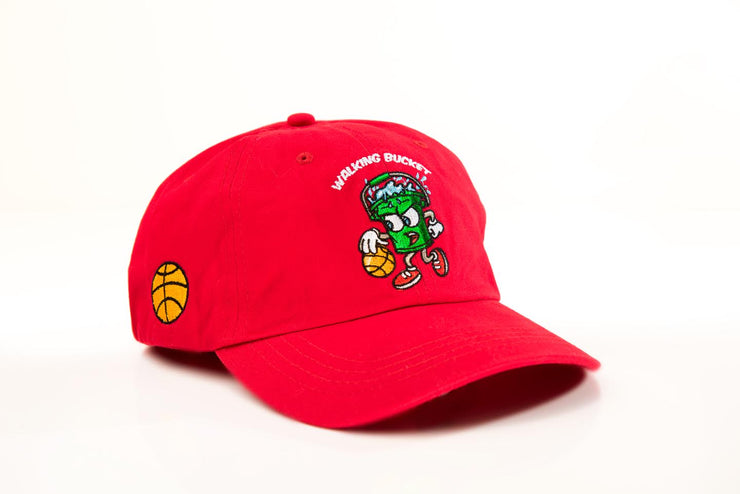 "WALKING BUCKET ""Gym Rat Red"" Hat"
