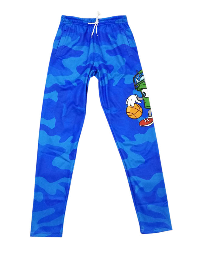 "Walking Bucket ""Cold Blooded Blue Camo"" Pants"