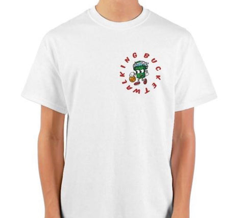 Walking Bucket Classic logo shirt