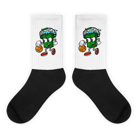 Walking Bucket Logo Socks