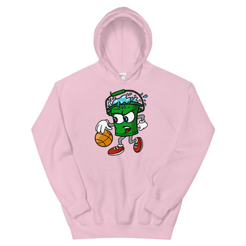"Walking Bucket ""Light Pink"" Hoodie"