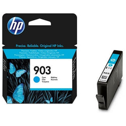 Original Ink Cartridge Hewlett Packard T6L87AE Cyan