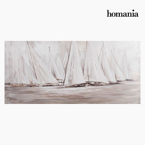 Oil Painting Yachts (150 x 70 cm) by Homania