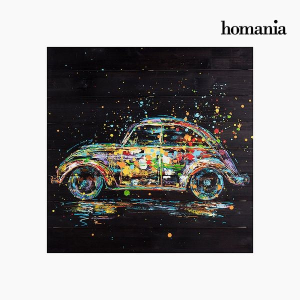 Oil Painting Car (80 x 80 cm) by Homania
