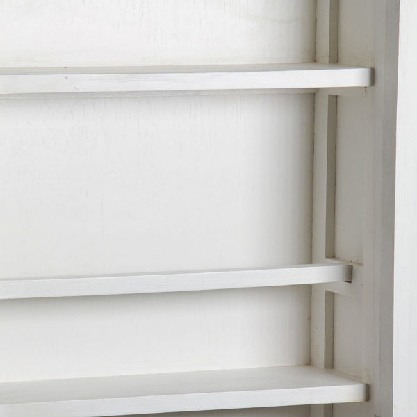 Shoe rack with mirrored door - Serious Line Collection by Craftenwood