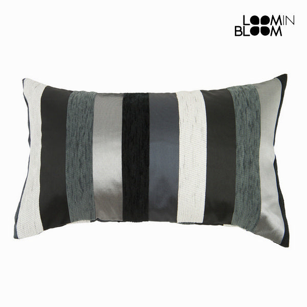 Black motegi cushion - Colored Lines Collection by Loom In Bloom