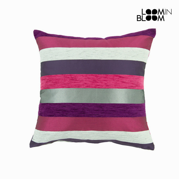 Purple motegi cushion - Colored Lines Collection by Loom In Bloom