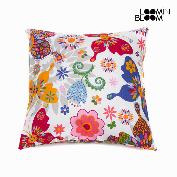 White paula cushion by Loom In Bloom