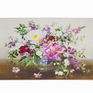 Set of 4 placemats bouquet - Kitchen's Deco Collection by Bravissima Kitchen