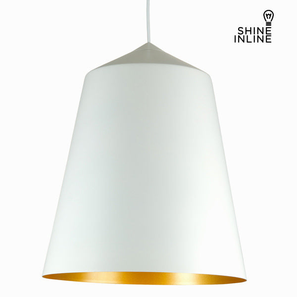 White aluminium lamp by Shine Inline