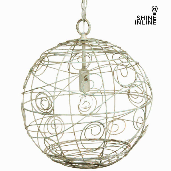 Rustic metal ball ceiling lamp by Shine Inline