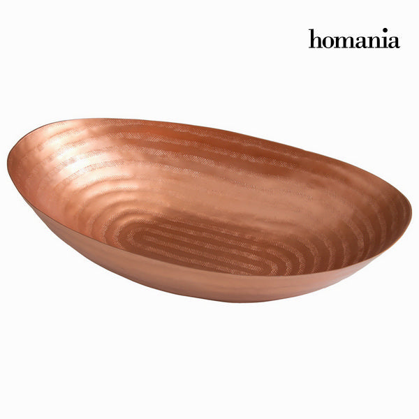 Oval copper centrepiece - New York Collection by Homania