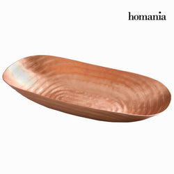 Copper boat centrepiece - New York Collection by Homania