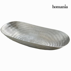 Silver boat centrepiece - New York Collection by Homania