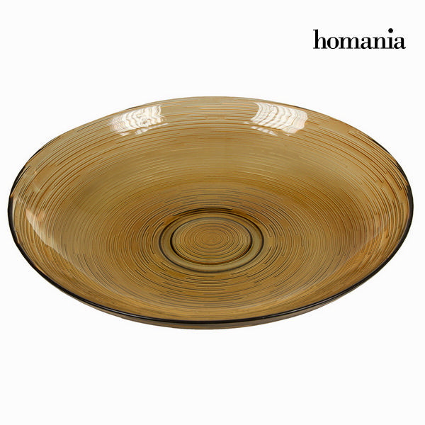 Brown spiro center piece big - Crystal Colours Kitchen Collection by Homania