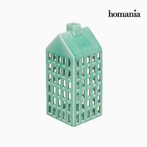 Ceramic candleholder house by Homania